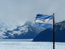 Argentinische Markierungsfahne (Argentinien) Stockfoto
