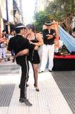 argentino探戈 免版税库存照片