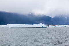 Argentino jezioro Obrazy Stock