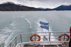 Argentino Lake El Calafate Argentina Stock Image