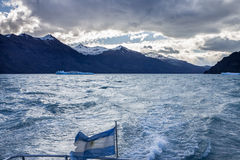 Argentino Lake El Calafate Argentina Royalty Free Stock Photos