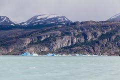 Argentino Lake Ice Block Fotografie Stock