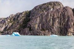 Argentino Lake Ice Block Immagine Stock