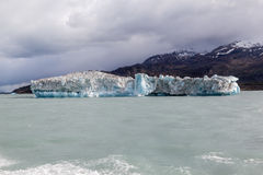 Argentino Lake Ice Block Photos libres de droits
