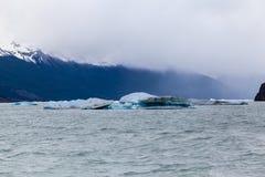 Argentino Lake Ice Block Immagini Stock Libere da Diritti