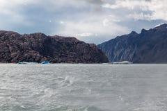 Argentino Lake Ice Block Royalty Free Stock Photography