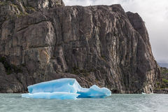 Argentino Lake Ice Block Royalty Free Stock Images