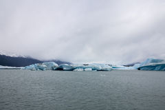 Argentino Lake Ice Block Stock Photography
