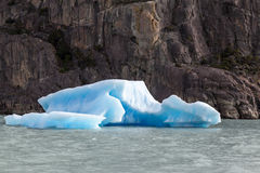 Argentino Lake Ice Block Stock Photos