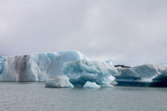 Argentino Lake Ice Block Stock Images