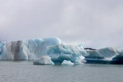 Argentino Lake Ice Block Stock Images
