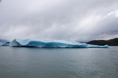 Argentino Lake Ice Block Stock Photo