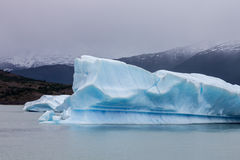 Argentino Lake Ice Block Royalty Free Stock Photo