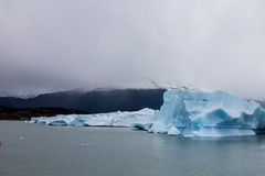 Argentino Lake Ice Block Royalty Free Stock Photos