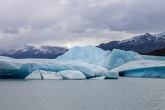 Argentino Lake Ice Block Stock Image