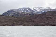 Argentino Lake Patagonia Stock Image