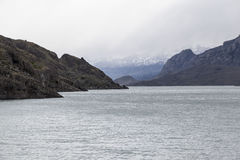 Argentino Lake Patagonia Royalty Free Stock Photos