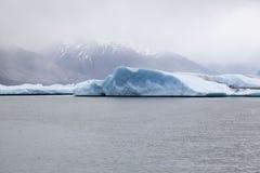 Argentino Lake Upsala Glacier Imagenes de archivo