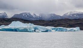 Argentino Lake Upsala Glacier Stock Photo