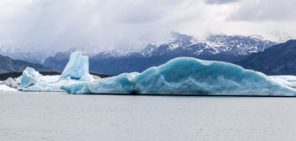 Argentino Lake Upsala Glacier Royalty Free Stock Photos