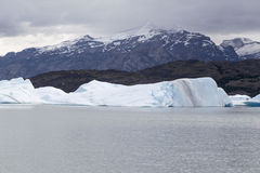 Argentino Lake Upsala Glacier Royalty Free Stock Photography