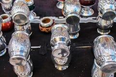 Argentino Mates Background South Caffeine-Rich fotografie stock