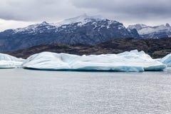 Argentino Upsala Jeziorny lodowiec Fotografia Royalty Free