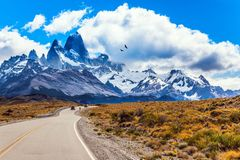 Argentinsk Patagonia Royaltyfria Foton