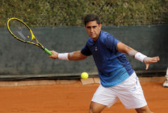 Argentinsk tennisspelare Facundo Arguello Royaltyfri Bild