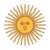 Argentna sun Stock Photos