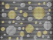 Argento astratto del fondo metallico Immagini Stock Libere da Diritti