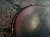 Argento di piastra metallica della latta dei piatti fotografia stock libera da diritti