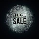 Argento-enorme-vendita illustrazione vettoriale