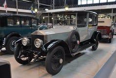 Argento Ghost, 1921 di Rolls Royce Fotografia Stock Libera da Diritti