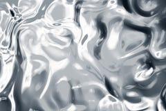 Argento liquido Fotografia Stock Libera da Diritti