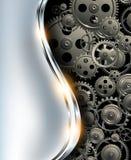 Fondo astratto metallico Immagine Stock
