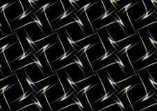 Argento nero Fotografia Stock