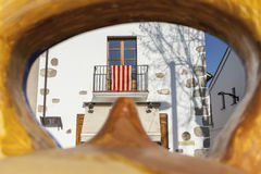 Argentona, Catalogne, Espagne Photo stock