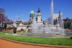 Argentyński kongres zdjęcie stock