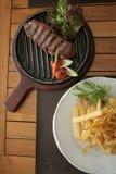 Argentyński stek Obrazy Stock