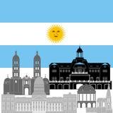Argentyna Obrazy Royalty Free
