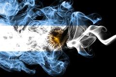 Argentyna dymu flaga ilustracji