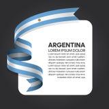 Argentyna flaga tło ilustracja wektor