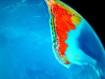 Argentyna na ziemi ilustracji