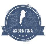 Argentyna ocena ilustracja wektor