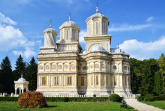 arges修道院罗马尼亚 免版税图库摄影