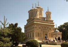 arges修道院罗马尼亚 库存图片