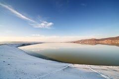 arges λίμνη budeasa φραγμάτων Στοκ εικόνα με δικαίωμα ελεύθερης χρήσης