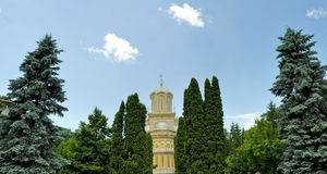 arges curtea de monastery罗马尼亚 免版税库存照片