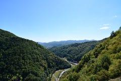Arges gorge landscape Stock Images
